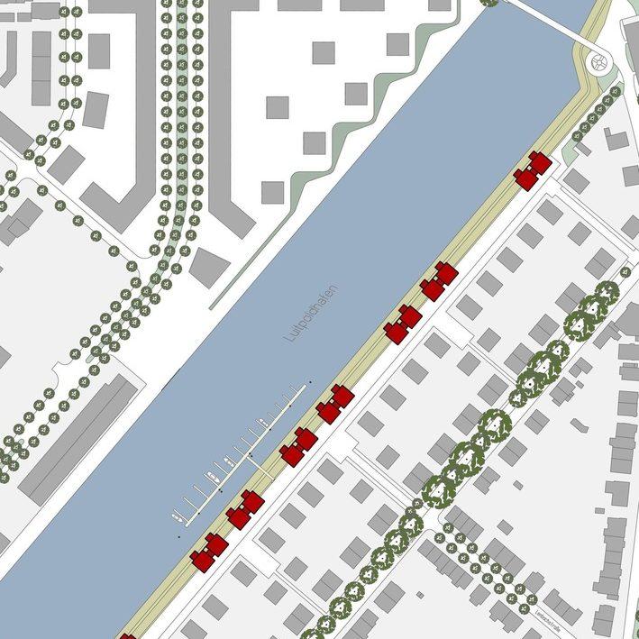 Reisch Gruppe Projekt Uferkante Luitpoldhafen Ludwigshafen Karte